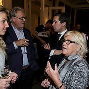 NLD/Amsterdam/20150128 - Boekpresentatie Willeke Alberti, Kay Lerby en partner Hanna Lap in gesprek met Jeroen Krabbe en partner Herma