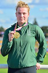 Paralympics Ireland Medalist Noelle Lenihan, F38, IRE at the Berlin 2018 World Para Athletics European Championships