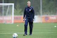22 April 2008: Assistant coach Jillian Ellis. The United States Women's National Team held a training session on Field 3 at WakeMed Soccer Park in Cary, NC.