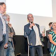 NLD/Amsterdam/20170616 - Uitreiking Nipkowschijf 2017, redactie van de radio nipkowschijf programma Argos