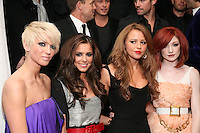 Sarah Harding, Cheryl Cole, Kimberley Walsh and Nicola Roberts (Girls Aloud)