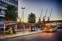 No transporte público na cidade de Porto Alegre, não ocorrem muitos problemas nas linhas de ônibus, porém os engarrafamentos comprometem o fluxo do trânsito. FOTO: Jefferson Bernardes/Preview.com