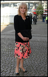Joanna Lumley arrives at Westminster Abbey for the service to celebrate the life and work of Sir David Frost, Westminster Abbey, London, United Kingdom. Thursday, 13th March 2014. Picture by Andrew Parsons / i-Images