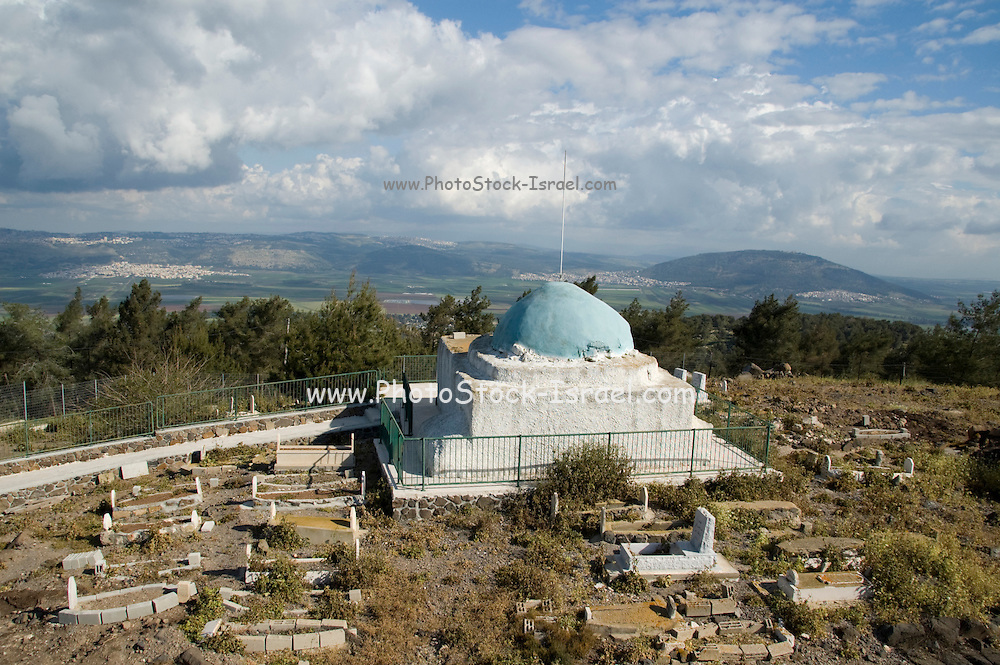 Israel, Jezreel Valley, Givaat Hamoreh (Moreh hill), Nabi Dahi, the shrine for Dahia Bin Khalifa al-Kalbei