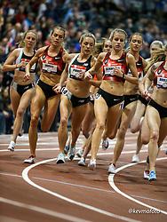 2020 USATF Indoor Championship<br /> Albuquerque, NM 2020-02-14<br /> photo credit: © 2020 Kevin Morris<br /> womens 3000m,