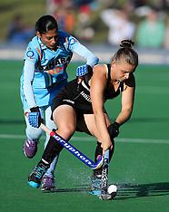 Palmerston North-Womens Hockey, New Zealand v India