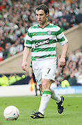 Celtic's Scott McDonald during the League Cup final between Rangers and Celtic at Hampden Park -<br /> David Young Universal News And Sport