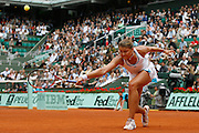 Roland Garros. Paris, France. June 4th 2008..Dinara SAFINA against Elena DEMENTIEVA..1/4 Finals...