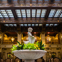 Poet Vachel Lindsay lived and wrote at the Davenport Hotel for more than five years in room 1129.(Photo by Rajah Bose)