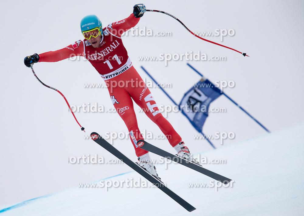 23.01.2015, Streif, Kitzbuehel, AUT, FIS Ski Weltcup, Supercombi Super G, Herren, im Bild Christof Innerhofer (ITA) // Christof Innerhofer of Italy in action during the men's Super Combined Super-G of Kitzbuehel FIS Ski Alpine World Cup at the Streif Course in Kitzbuehel, Austria on 2015/01/23. EXPA Pictures © 2015, PhotoCredit: EXPA/ Johann Groder