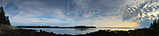 Looking Towards Brooksville from Nautilus Island, Castine, Maine, US