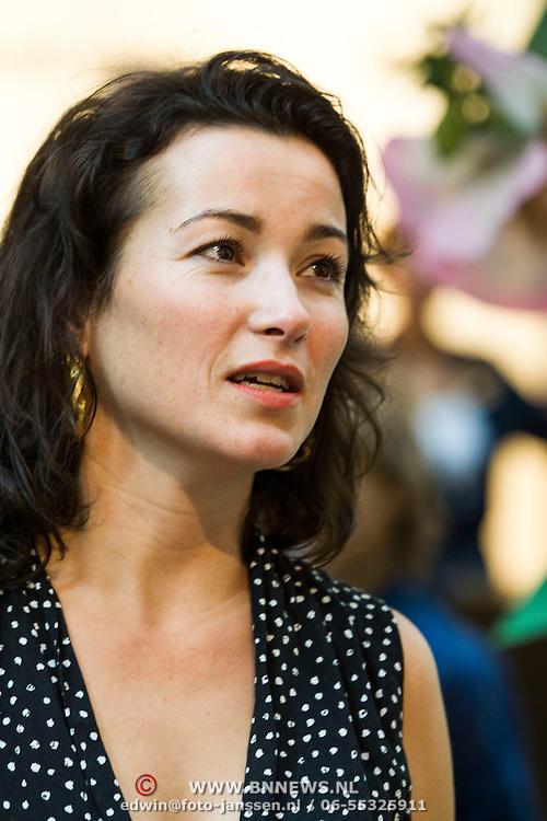 NLD/Amsterdam/20140409 - Presentatie Sam & haas fairtrade juwelenlijn, Birgit Schuurman