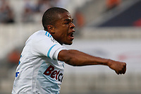 FOOTBALL - FRENCH CHAMPIONSHIP 2011/2012 - L1 - OLYMPIQUE MARSEILLE v EVIAN TG  - 21/09/2011 - PHOTO PHILIPPE LAURENSON / DPPI - JOY LOIC REMY (OM) AFTER HIS GOAL