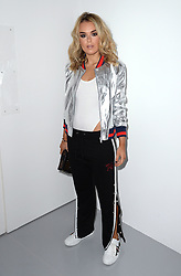 Tallia Storm attending the Eudon Choi Autumn/Winter 2017 London Fashion Week show at the BFC Show Space, 180 Strand, London. Photo credit should read: Doug Peters/ EMPICS Entertainment