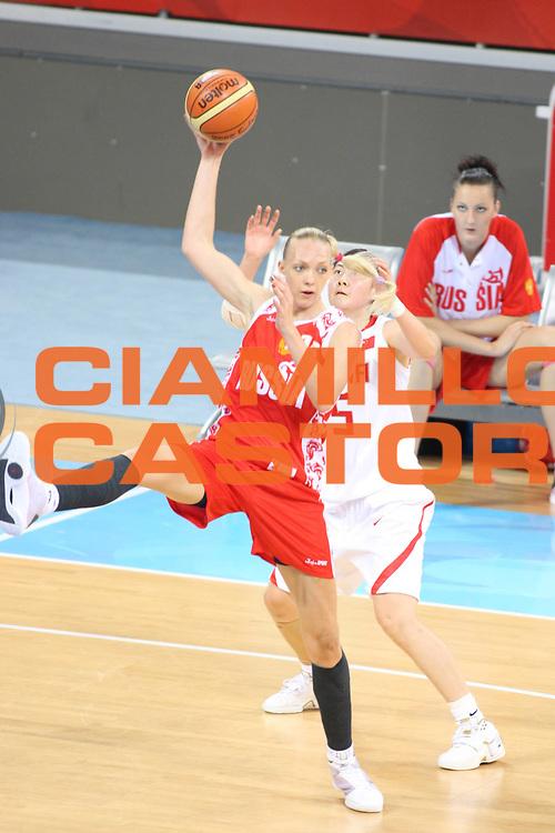 DESCRIZIONE : Beijing Pechino Olympic Games Olimpiadi 2008 Women Final Bronze Medal 3-4 posto place China Russia<br /> GIOCATORE : Irina OSIPOVA <br /> SQUADRA : Russia<br /> EVENTO : Olympic Games Olimpiadi 2008<br /> GARA : Cina Russia<br /> DATA : 23/08/2008 <br /> CATEGORIA : Tiro<br /> SPORT : Pallacanestro <br /> AUTORE : Agenzia Ciamillo-Castoria/G.Ciamillo<br /> Galleria : Beijing Pechino Olympic Games Olimpiadi 2008 <br /> Fotonotizia : Beijing Pechino Olympic Games Olimpiadi 2008 Women Final Bronze Medal 3-4 posto place China Russia<br /> Predefinita :