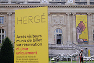 Paris: Herge Exhibition, 26 September 2016