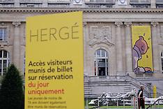 Paris: Herge Exhibition, 26 September 2016