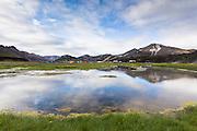 Camping site at Landmannalaugar