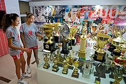 Sala dos troféus no ADC Bradesco Esporte e Educação, em Osasco. FOTO: Jefferson Bernardes/Preview.com