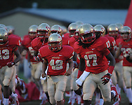 Lafayette High's Chris Stewart (42) vs. Greenwood in Oxford, Miss. on Friday, August 24, 2012. Lafayette won 41-0.