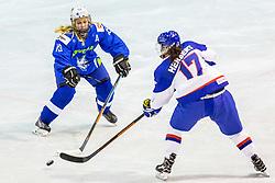 Porekar Nusa of Slovenia during hockey match between Slovenia and Great Britain in IIHF World Womens Championship, Division II, Group A, on April 4, 2018 in Ledena dvorana Maribor, Maribor, Slovenia. Photo by Ziga Zupan / Sportida
