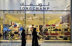 Longchamp fashion and accessory  shop in Dubai Mall Dubai United Arab Emirates