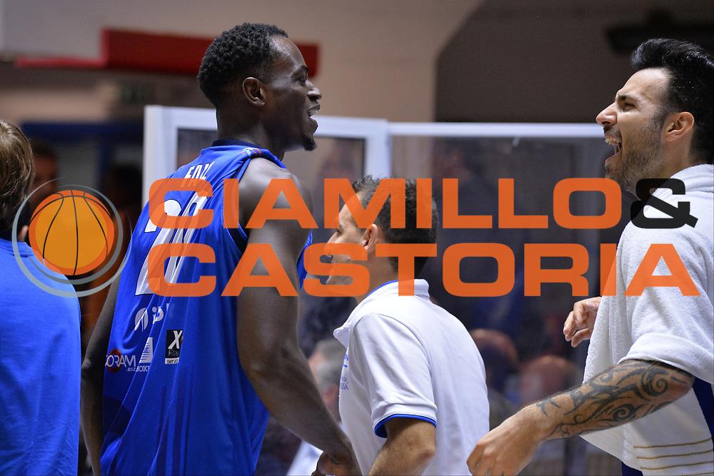 Fall Abdel<br /> Happycasa Brindisi - Germani Basket Brescia<br /> Legabasket serieA2017-2018<br /> Brindisi , 29/10/2017<br /> Foto Ciamillo-Castoria/M.Longo