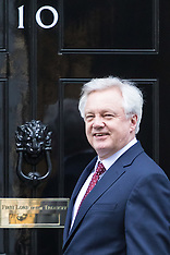 2017-03-13 Brexit Minister David Davis in Downing Street