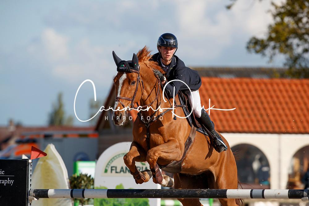 Thomas Gilles, BEL, Janice<br /> Groenten Jumping - Sint Kathelijne Waver 2017<br /> © Hippo Foto - Dirk Caremans<br /> 17/04/2017