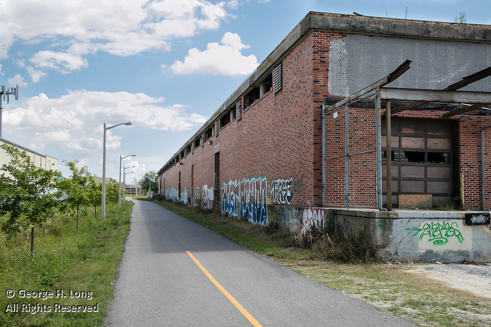 The Lafitte Greenway on September 22, 2016; Photo ©2016, George H. Long