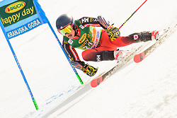 March 9, 2019 - Kranjska Gora, Kranjska Gora, Slovenia - Trevor Philp of Canada in action during Audi FIS Ski World Cup Vitranc on March 8, 2019 in Kranjska Gora, Slovenia. (Credit Image: © Rok Rakun/Pacific Press via ZUMA Wire)