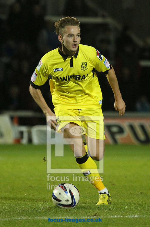Picture by Paul Gaythorpe/Focus Images Ltd +447771 871632.07/11/2012.Adam McGurk of Tranmere Rovers during the npower League 1 match at Victoria Park, Hartlepool.