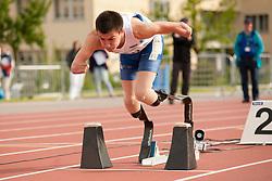 Prokopyev, Ivan T43 RUS at 2014 IPC Athletics Grandprix, Nottwil, Switzerland