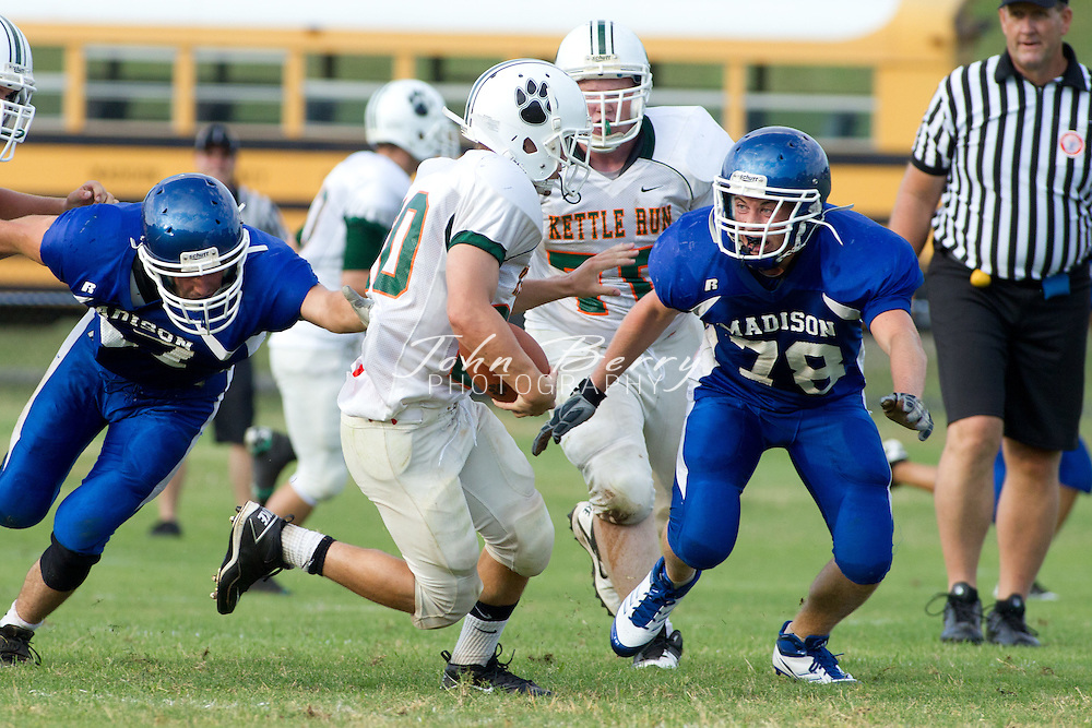 August/11/11:  MCHS Varsity Football vs Kettle Run, Scrimmage.