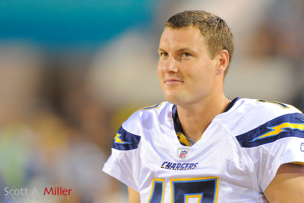 San Diego Chargers quarterback Philip Rivers (17) during the Chargers game against the Jacksonville Jaguars at EverBank Field on Dec. 5, 2011 in Jacksonville, Fla. .©2011 Scott A. Miller