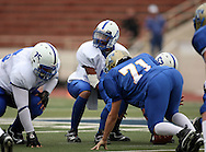 Lanier's Quarterback Christian Jackson, Kerrville Tivy vs. Lanier, 1 p.m. Saturday, 17 Nov 07, at Alamo Stadium: Tivy dominated the game scoring 42 points in the first half and knocking Lanier out of the playoffs 52-7.