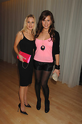Left to right, IMOGEN LLOYD WEBBER and ABI TITMUSS at the Lauren-Perrier 'Pop Art' Pink Party in aid of Capital 95.8's Help A London Child, held at Suka at the Sanderson Hotel, 50 Berners Street, London W1 on 25th April 2007.<br /><br />NON EXCLUSIVE - WORLD RIGHTS