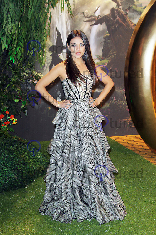 Mila Kunis, Oz The Great and Powerful European Film Premiere, Empire Cinema Leicester Square, London UK, 28 February 2013, (Photo by Richard Goldschmidt)