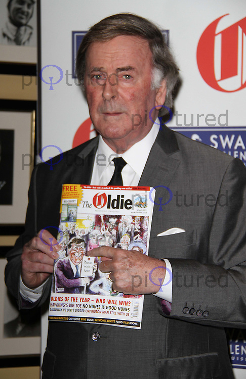 Sir Terry Wogan The Oldie of the Year Awards, Simpsons in the Strand Hotel, London, UK, 10 February 2011: Contact: Ian@Piqtured.com +44(0)791 626 2580 (Picture by Richard Goldschmidt)