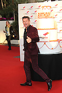 CANNES, FRANCE - APRIL 08:  Felix Baumgartner arrives at the MIPTV 50th Anniversary : Opening Party on April 8, 2013 in Cannes, France.  (Photo by Tony Barson/Getty Images)