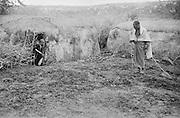 Landscape, Great Rift Valley Reservation, Ngong District, Kenya, Africa, 1937