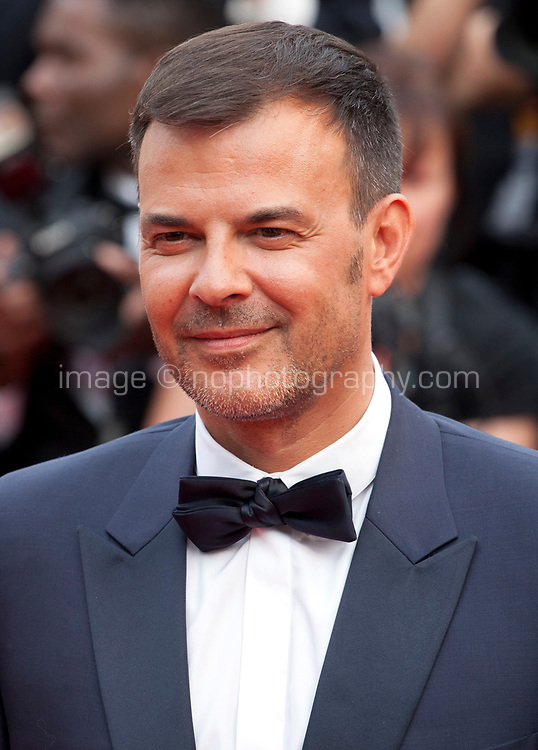 Director François Ozon at L'amant Double gala screening at the 70th Cannes Film Festival Friday 26th May 2017, Cannes, France. Photo credit: Doreen Kennedy