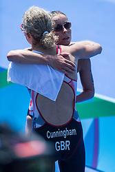 CUNNINGHAM Clare, GBR, Para-Triathlon, PT4, STEADMAN Lauren at Rio 2016 Paralympic Games, Brazil