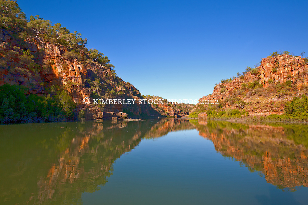 Spectacular red cliffs line the Sale River.