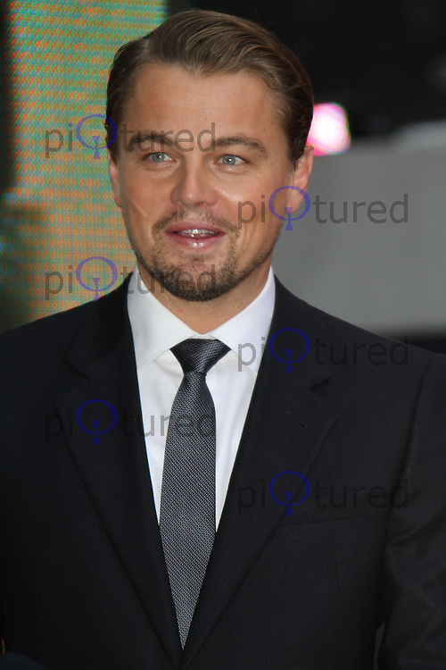 Leonardo DiCaprio Inception World Premiere held at the Odeon Cinema, Leicester Square, London, UK, 08 July 2010:  For piQtured Sales contact: Ian@Piqtured.com +44(0)791 626 2580 (Picture by Richard Goldschmidt/Piqtured)
