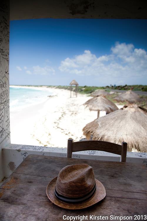 Lunch at Playa Bonita on Isla Cozumel