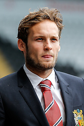 Daley Blind of Manchester United arrives at the stadium - Mandatory byline: Rogan Thomson/JMP - 07966 386802 - 30/08/2015 - FOOTBALL - Liberty Stadium - Swansea, Wales - Swansea City v Manchester United - Barclays Premier League.