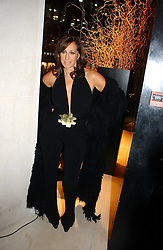 DONNA KARAN at the launch party for Donna Karan's new fragrance Gold held at the Donna Karan store, 19 New Bond Street, London on 16th November 2006.<br /><br />NON EXCLUSIVE - WORLD RIGHTS