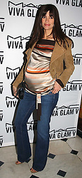 LISA B at a party to celebrate Pamela Anderson's new role as spokesperson and newest face of the MAC Aids Fund's Viva Glam V Campaign held at Home House, Portman Square, London on 21st April 2005.<br />
