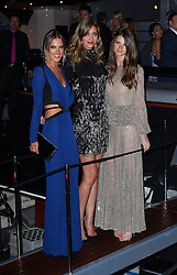 Alessandra Ambrosio and Ana Beatriz Barros attend Roberto Cavalli's boat party at the Cannes Film Festival. France. 22/05/2013<br />BYLINE MUST READ : JAMESY/GOTCHA IMAGES<br /><br />Copyright by © Gotcha Images Ltd. All rights reserved.<br />Usage of this image is conditional upon the acceptance <br />of Gotcha Images Ltd, terms and conditions available at<br />www.gotchaimages.com